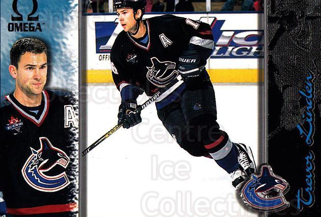 1997-98 Omega Dark Grey #230 Trevor Linden<br/>2 In Stock - $2.00 each - <a href=https://centericecollectibles.foxycart.com/cart?name=1997-98%20Omega%20Dark%20Grey%20%23230%20Trevor%20Linden...&quantity_max=2&price=$2.00&code=60594 class=foxycart> Buy it now! </a>