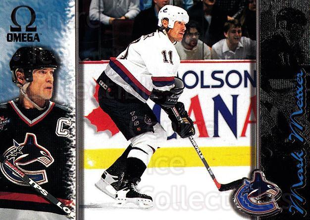 1997-98 Omega Dark Grey #231 Mark Messier<br/>4 In Stock - $2.00 each - <a href=https://centericecollectibles.foxycart.com/cart?name=1997-98%20Omega%20Dark%20Grey%20%23231%20Mark%20Messier...&quantity_max=4&price=$2.00&code=60595 class=foxycart> Buy it now! </a>