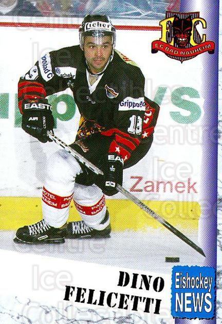1999-00 German Bundesliga 2 #8 Dino Felicetti<br/>10 In Stock - $2.00 each - <a href=https://centericecollectibles.foxycart.com/cart?name=1999-00%20German%20Bundesliga%202%20%238%20Dino%20Felicetti...&quantity_max=10&price=$2.00&code=606256 class=foxycart> Buy it now! </a>