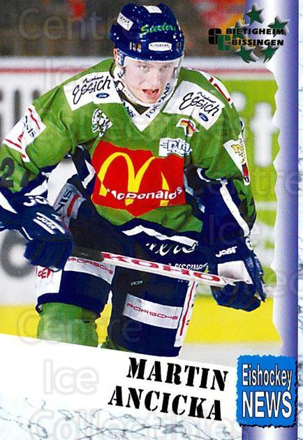 1999-00 German Bundesliga 2 #53 Martin Ancicka<br/>8 In Stock - $2.00 each - <a href=https://centericecollectibles.foxycart.com/cart?name=1999-00%20German%20Bundesliga%202%20%2353%20Martin%20Ancicka...&quantity_max=8&price=$2.00&code=606261 class=foxycart> Buy it now! </a>
