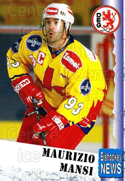 1999-00 German Bundesliga 2 #103 Maurizio Mansi<br/>10 In Stock - $2.00 each - <a href=https://centericecollectibles.foxycart.com/cart?name=1999-00%20German%20Bundesliga%202%20%23103%20Maurizio%20Mansi...&quantity_max=10&price=$2.00&code=606264 class=foxycart> Buy it now! </a>