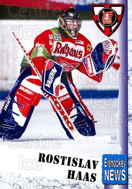 1999-00 German Bundesliga 2 #107 Rostislav Haas<br/>8 In Stock - $2.00 each - <a href=https://centericecollectibles.foxycart.com/cart?name=1999-00%20German%20Bundesliga%202%20%23107%20Rostislav%20Haas...&quantity_max=8&price=$2.00&code=606265 class=foxycart> Buy it now! </a>