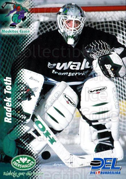 1999-00 German DEL #353 Radek Toth<br/>6 In Stock - $2.00 each - <a href=https://centericecollectibles.foxycart.com/cart?name=1999-00%20German%20DEL%20%23353%20Radek%20Toth...&quantity_max=6&price=$2.00&code=606304 class=foxycart> Buy it now! </a>