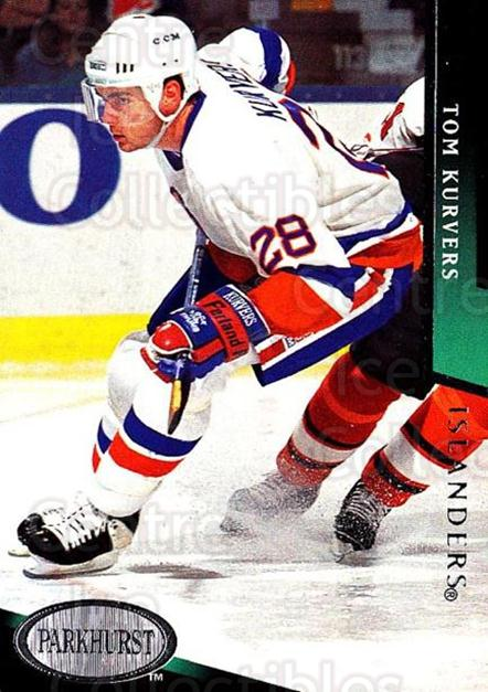 1993-94 Parkhurst #392 Tom Kurvers<br/>6 In Stock - $1.00 each - <a href=https://centericecollectibles.foxycart.com/cart?name=1993-94%20Parkhurst%20%23392%20Tom%20Kurvers...&quantity_max=6&price=$1.00&code=6071 class=foxycart> Buy it now! </a>