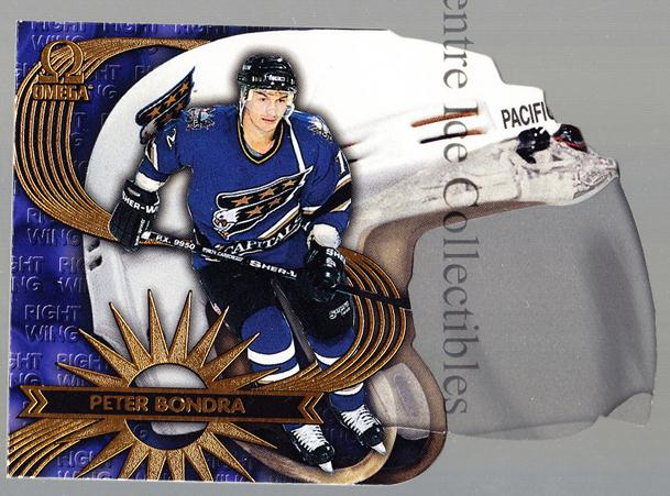 1997-98 Omega Game Face #20 Peter Bondra<br/>1 In Stock - $5.00 each - <a href=https://centericecollectibles.foxycart.com/cart?name=1997-98%20Omega%20Game%20Face%20%2320%20Peter%20Bondra...&quantity_max=1&price=$5.00&code=60763 class=foxycart> Buy it now! </a>