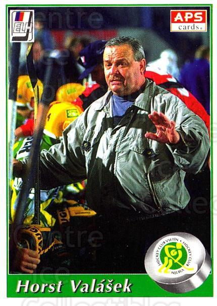 1995-96 Czech APS Extraliga #1 Horst Valasek<br/>1 In Stock - $2.00 each - <a href=https://centericecollectibles.foxycart.com/cart?name=1995-96%20Czech%20APS%20Extraliga%20%231%20Horst%20Valasek...&quantity_max=1&price=$2.00&code=607746 class=foxycart> Buy it now! </a>