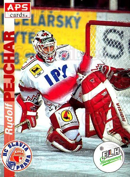 1996-97 Czech APS Extraliga #3 Rudolf Pejchar<br/>1 In Stock - $2.00 each - <a href=https://centericecollectibles.foxycart.com/cart?name=1996-97%20Czech%20APS%20Extraliga%20%233%20Rudolf%20Pejchar...&quantity_max=1&price=$2.00&code=608195 class=foxycart> Buy it now! </a>
