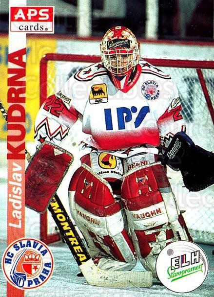 1996-97 Czech APS Extraliga #4 Ladislav Kudrna<br/>1 In Stock - $2.00 each - <a href=https://centericecollectibles.foxycart.com/cart?name=1996-97%20Czech%20APS%20Extraliga%20%234%20Ladislav%20Kudrna...&quantity_max=1&price=$2.00&code=608196 class=foxycart> Buy it now! </a>