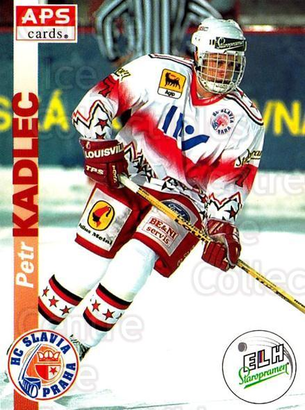 1996-97 Czech APS Extraliga #6 Petr Kadlec<br/>3 In Stock - $2.00 each - <a href=https://centericecollectibles.foxycart.com/cart?name=1996-97%20Czech%20APS%20Extraliga%20%236%20Petr%20Kadlec...&quantity_max=3&price=$2.00&code=608198 class=foxycart> Buy it now! </a>