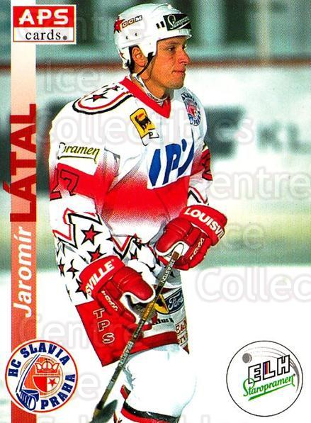 1996-97 Czech APS Extraliga #7 Jaromir Latal<br/>1 In Stock - $2.00 each - <a href=https://centericecollectibles.foxycart.com/cart?name=1996-97%20Czech%20APS%20Extraliga%20%237%20Jaromir%20Latal...&quantity_max=1&price=$2.00&code=608199 class=foxycart> Buy it now! </a>