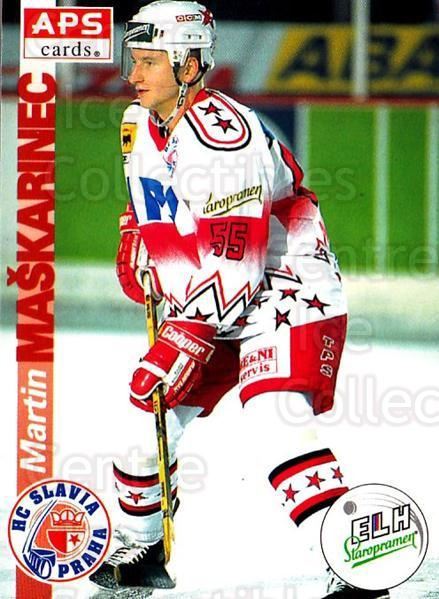 1996-97 Czech APS Extraliga #10 Martin Maskarinec<br/>4 In Stock - $2.00 each - <a href=https://centericecollectibles.foxycart.com/cart?name=1996-97%20Czech%20APS%20Extraliga%20%2310%20Martin%20Maskarin...&quantity_max=4&price=$2.00&code=608202 class=foxycart> Buy it now! </a>