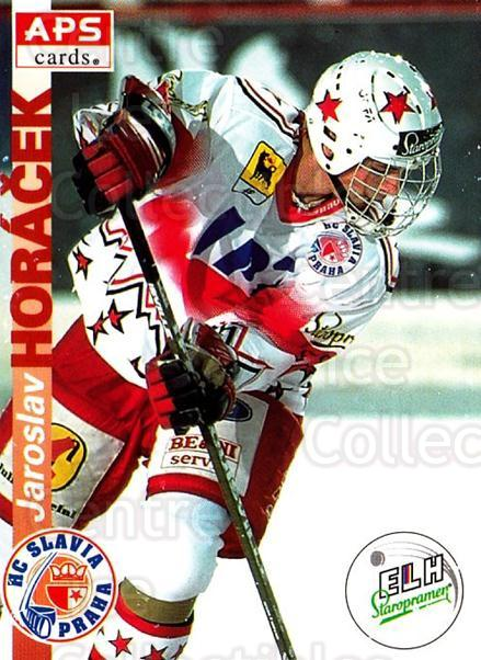 1996-97 Czech APS Extraliga #11 Jaroslav Horacek<br/>1 In Stock - $2.00 each - <a href=https://centericecollectibles.foxycart.com/cart?name=1996-97%20Czech%20APS%20Extraliga%20%2311%20Jaroslav%20Horace...&quantity_max=1&price=$2.00&code=608203 class=foxycart> Buy it now! </a>