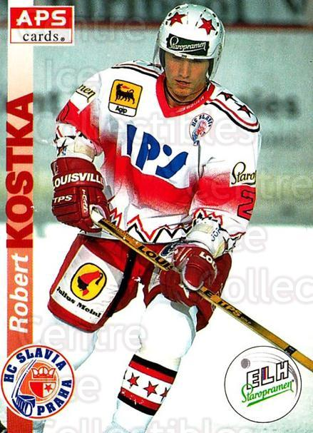 1996-97 Czech APS Extraliga #12 Robert Kostka<br/>2 In Stock - $2.00 each - <a href=https://centericecollectibles.foxycart.com/cart?name=1996-97%20Czech%20APS%20Extraliga%20%2312%20Robert%20Kostka...&quantity_max=2&price=$2.00&code=608204 class=foxycart> Buy it now! </a>