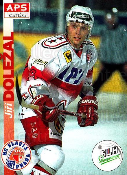 1996-97 Czech APS Extraliga #13 Jiri Dolezal<br/>1 In Stock - $2.00 each - <a href=https://centericecollectibles.foxycart.com/cart?name=1996-97%20Czech%20APS%20Extraliga%20%2313%20Jiri%20Dolezal...&quantity_max=1&price=$2.00&code=608205 class=foxycart> Buy it now! </a>