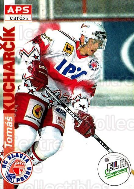 1996-97 Czech APS Extraliga #14 Tomas Kucharcik<br/>1 In Stock - $2.00 each - <a href=https://centericecollectibles.foxycart.com/cart?name=1996-97%20Czech%20APS%20Extraliga%20%2314%20Tomas%20Kucharcik...&quantity_max=1&price=$2.00&code=608206 class=foxycart> Buy it now! </a>