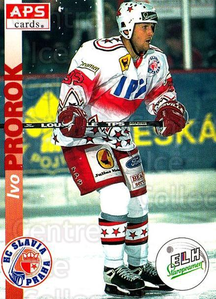 1996-97 Czech APS Extraliga #15 Ivo Prorok<br/>2 In Stock - $2.00 each - <a href=https://centericecollectibles.foxycart.com/cart?name=1996-97%20Czech%20APS%20Extraliga%20%2315%20Ivo%20Prorok...&quantity_max=2&price=$2.00&code=608207 class=foxycart> Buy it now! </a>