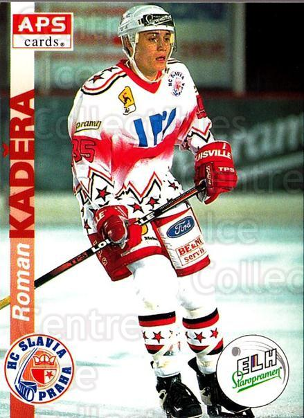 1996-97 Czech APS Extraliga #16 Roman Kadera<br/>1 In Stock - $2.00 each - <a href=https://centericecollectibles.foxycart.com/cart?name=1996-97%20Czech%20APS%20Extraliga%20%2316%20Roman%20Kadera...&quantity_max=1&price=$2.00&code=608208 class=foxycart> Buy it now! </a>