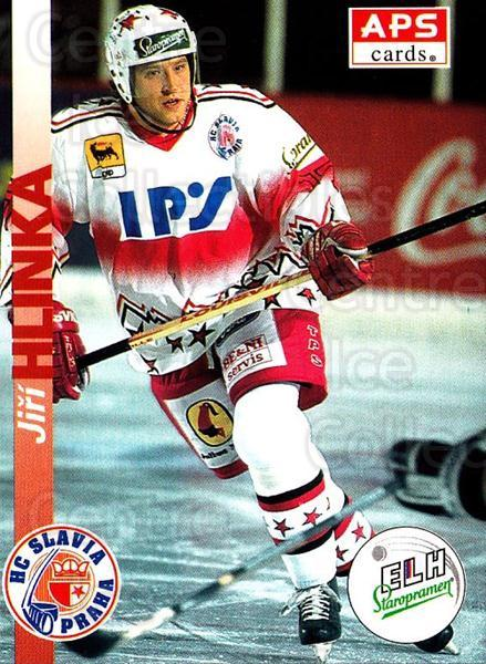 1996-97 Czech APS Extraliga #17 Jiri Hlinka<br/>1 In Stock - $2.00 each - <a href=https://centericecollectibles.foxycart.com/cart?name=1996-97%20Czech%20APS%20Extraliga%20%2317%20Jiri%20Hlinka...&quantity_max=1&price=$2.00&code=608209 class=foxycart> Buy it now! </a>