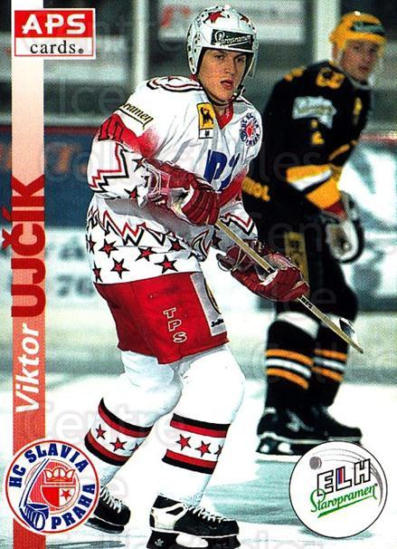 1996-97 Czech APS Extraliga #19 Viktor Ujcik<br/>2 In Stock - $2.00 each - <a href=https://centericecollectibles.foxycart.com/cart?name=1996-97%20Czech%20APS%20Extraliga%20%2319%20Viktor%20Ujcik...&quantity_max=2&price=$2.00&code=608211 class=foxycart> Buy it now! </a>