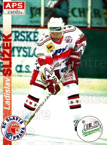 1996-97 Czech APS Extraliga #21 Ladislav Slizek<br/>3 In Stock - $2.00 each - <a href=https://centericecollectibles.foxycart.com/cart?name=1996-97%20Czech%20APS%20Extraliga%20%2321%20Ladislav%20Slizek...&quantity_max=3&price=$2.00&code=608213 class=foxycart> Buy it now! </a>