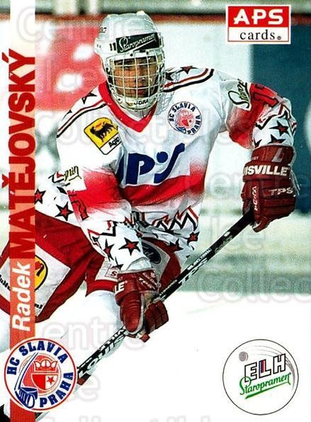 1996-97 Czech APS Extraliga #24 Radek Matejovsky<br/>2 In Stock - $2.00 each - <a href=https://centericecollectibles.foxycart.com/cart?name=1996-97%20Czech%20APS%20Extraliga%20%2324%20Radek%20Matejovsk...&quantity_max=2&price=$2.00&code=608216 class=foxycart> Buy it now! </a>