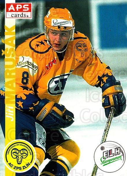1996-97 Czech APS Extraliga #30 Jiri Marusak<br/>2 In Stock - $2.00 each - <a href=https://centericecollectibles.foxycart.com/cart?name=1996-97%20Czech%20APS%20Extraliga%20%2330%20Jiri%20Marusak...&quantity_max=2&price=$2.00&code=608222 class=foxycart> Buy it now! </a>