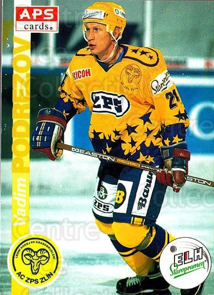 1996-97 Czech APS Extraliga #32 Vadim Podrezov<br/>1 In Stock - $2.00 each - <a href=https://centericecollectibles.foxycart.com/cart?name=1996-97%20Czech%20APS%20Extraliga%20%2332%20Vadim%20Podrezov...&quantity_max=1&price=$2.00&code=608224 class=foxycart> Buy it now! </a>