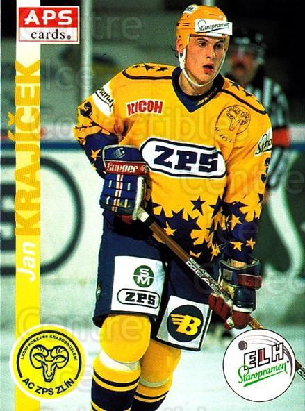 1996-97 Czech APS Extraliga #34 Jan Krajicek<br/>1 In Stock - $2.00 each - <a href=https://centericecollectibles.foxycart.com/cart?name=1996-97%20Czech%20APS%20Extraliga%20%2334%20Jan%20Krajicek...&quantity_max=1&price=$2.00&code=608226 class=foxycart> Buy it now! </a>