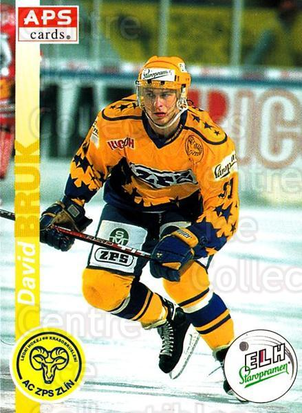 1996-97 Czech APS Extraliga #36 David Bruk<br/>2 In Stock - $2.00 each - <a href=https://centericecollectibles.foxycart.com/cart?name=1996-97%20Czech%20APS%20Extraliga%20%2336%20David%20Bruk...&quantity_max=2&price=$2.00&code=608228 class=foxycart> Buy it now! </a>