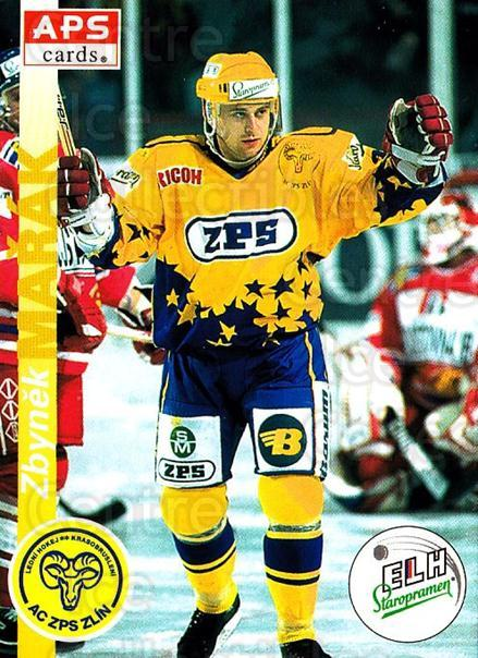1996-97 Czech APS Extraliga #40 Zbynek Marak<br/>2 In Stock - $2.00 each - <a href=https://centericecollectibles.foxycart.com/cart?name=1996-97%20Czech%20APS%20Extraliga%20%2340%20Zbynek%20Marak...&quantity_max=2&price=$2.00&code=608232 class=foxycart> Buy it now! </a>