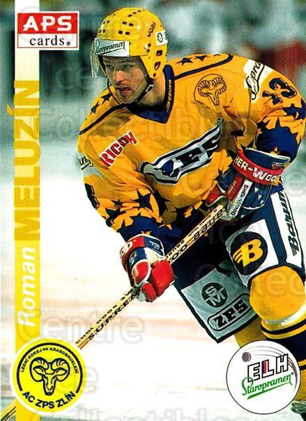 1996-97 Czech APS Extraliga #42 Roman Meluzin<br/>1 In Stock - $2.00 each - <a href=https://centericecollectibles.foxycart.com/cart?name=1996-97%20Czech%20APS%20Extraliga%20%2342%20Roman%20Meluzin...&quantity_max=1&price=$2.00&code=608234 class=foxycart> Buy it now! </a>