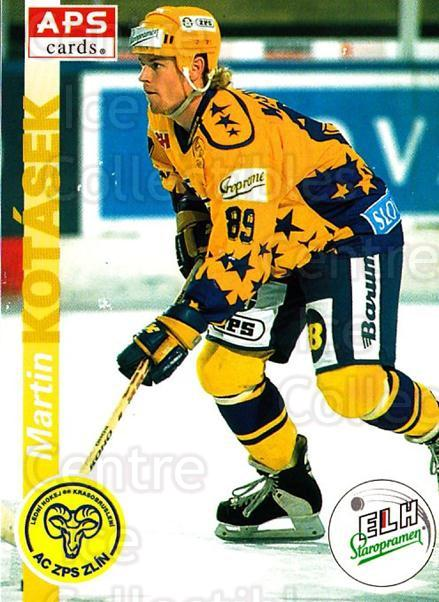 1996-97 Czech APS Extraliga #46 Martin Kotasek<br/>2 In Stock - $2.00 each - <a href=https://centericecollectibles.foxycart.com/cart?name=1996-97%20Czech%20APS%20Extraliga%20%2346%20Martin%20Kotasek...&quantity_max=2&price=$2.00&code=608238 class=foxycart> Buy it now! </a>
