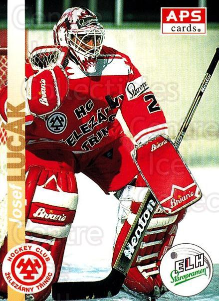1996-97 Czech APS Extraliga #51 Josef Lucak<br/>1 In Stock - $2.00 each - <a href=https://centericecollectibles.foxycart.com/cart?name=1996-97%20Czech%20APS%20Extraliga%20%2351%20Josef%20Lucak...&quantity_max=1&price=$2.00&code=608243 class=foxycart> Buy it now! </a>