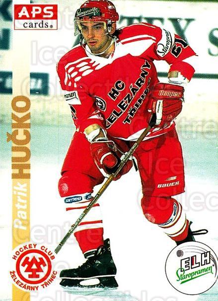 1996-97 Czech APS Extraliga #56 Patrik Hucko<br/>1 In Stock - $2.00 each - <a href=https://centericecollectibles.foxycart.com/cart?name=1996-97%20Czech%20APS%20Extraliga%20%2356%20Patrik%20Hucko...&quantity_max=1&price=$2.00&code=608248 class=foxycart> Buy it now! </a>