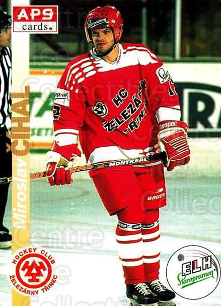 1996-97 Czech APS Extraliga #57 Miroslav Cihal<br/>4 In Stock - $2.00 each - <a href=https://centericecollectibles.foxycart.com/cart?name=1996-97%20Czech%20APS%20Extraliga%20%2357%20Miroslav%20Cihal...&quantity_max=4&price=$2.00&code=608249 class=foxycart> Buy it now! </a>