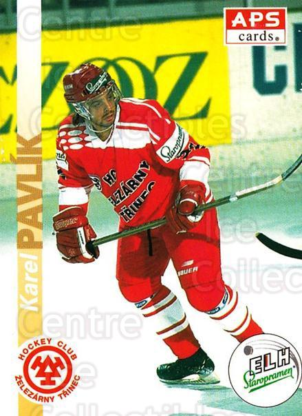1996-97 Czech APS Extraliga #58 Karel Pavlik<br/>1 In Stock - $2.00 each - <a href=https://centericecollectibles.foxycart.com/cart?name=1996-97%20Czech%20APS%20Extraliga%20%2358%20Karel%20Pavlik...&quantity_max=1&price=$2.00&code=608250 class=foxycart> Buy it now! </a>