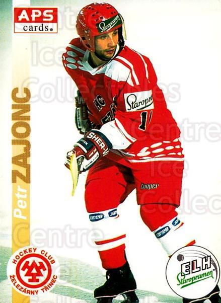 1996-97 Czech APS Extraliga #63 Petr Zajonc<br/>1 In Stock - $2.00 each - <a href=https://centericecollectibles.foxycart.com/cart?name=1996-97%20Czech%20APS%20Extraliga%20%2363%20Petr%20Zajonc...&quantity_max=1&price=$2.00&code=608255 class=foxycart> Buy it now! </a>