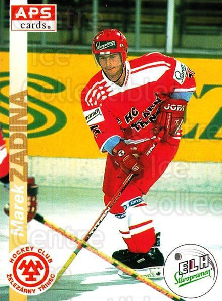 1996-97 Czech APS Extraliga #65 Marek Zadina<br/>2 In Stock - $2.00 each - <a href=https://centericecollectibles.foxycart.com/cart?name=1996-97%20Czech%20APS%20Extraliga%20%2365%20Marek%20Zadina...&quantity_max=2&price=$2.00&code=608257 class=foxycart> Buy it now! </a>