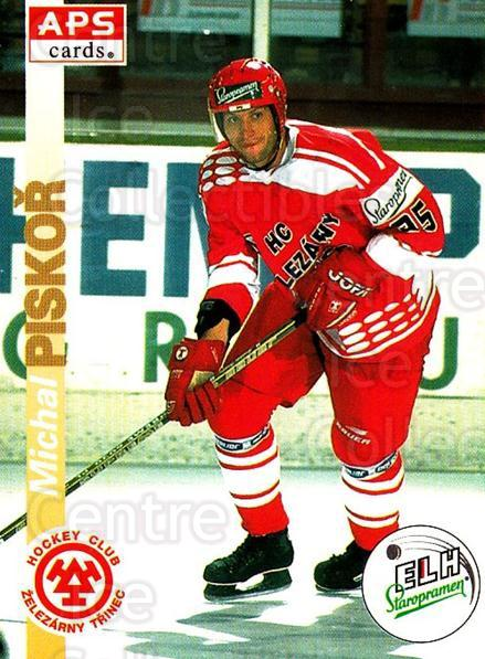 1996-97 Czech APS Extraliga #67 Michal Piskor<br/>2 In Stock - $2.00 each - <a href=https://centericecollectibles.foxycart.com/cart?name=1996-97%20Czech%20APS%20Extraliga%20%2367%20Michal%20Piskor...&quantity_max=2&price=$2.00&code=608259 class=foxycart> Buy it now! </a>