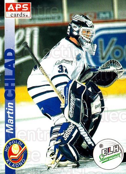 1996-97 Czech APS Extraliga #75 Martin Chlad<br/>1 In Stock - $2.00 each - <a href=https://centericecollectibles.foxycart.com/cart?name=1996-97%20Czech%20APS%20Extraliga%20%2375%20Martin%20Chlad...&quantity_max=1&price=$2.00&code=608267 class=foxycart> Buy it now! </a>