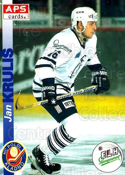 1996-97 Czech APS Extraliga #77 Jan Krulis<br/>1 In Stock - $2.00 each - <a href=https://centericecollectibles.foxycart.com/cart?name=1996-97%20Czech%20APS%20Extraliga%20%2377%20Jan%20Krulis...&quantity_max=1&price=$2.00&code=608269 class=foxycart> Buy it now! </a>