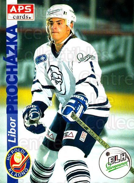 1996-97 Czech APS Extraliga #78 Libor Prochazka<br/>1 In Stock - $2.00 each - <a href=https://centericecollectibles.foxycart.com/cart?name=1996-97%20Czech%20APS%20Extraliga%20%2378%20Libor%20Prochazka...&quantity_max=1&price=$2.00&code=608270 class=foxycart> Buy it now! </a>