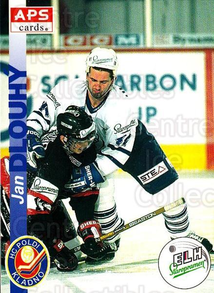 1996-97 Czech APS Extraliga #79 Jan Dlouhy<br/>2 In Stock - $2.00 each - <a href=https://centericecollectibles.foxycart.com/cart?name=1996-97%20Czech%20APS%20Extraliga%20%2379%20Jan%20Dlouhy...&quantity_max=2&price=$2.00&code=608271 class=foxycart> Buy it now! </a>