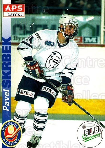 1996-97 Czech APS Extraliga #82 Pavel Skrbek<br/>1 In Stock - $2.00 each - <a href=https://centericecollectibles.foxycart.com/cart?name=1996-97%20Czech%20APS%20Extraliga%20%2382%20Pavel%20Skrbek...&quantity_max=1&price=$2.00&code=608274 class=foxycart> Buy it now! </a>