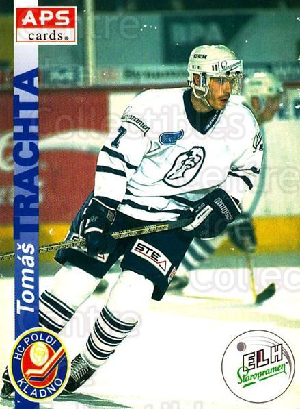 1996-97 Czech APS Extraliga #83 Tomas Trachta<br/>2 In Stock - $2.00 each - <a href=https://centericecollectibles.foxycart.com/cart?name=1996-97%20Czech%20APS%20Extraliga%20%2383%20Tomas%20Trachta...&quantity_max=2&price=$2.00&code=608275 class=foxycart> Buy it now! </a>