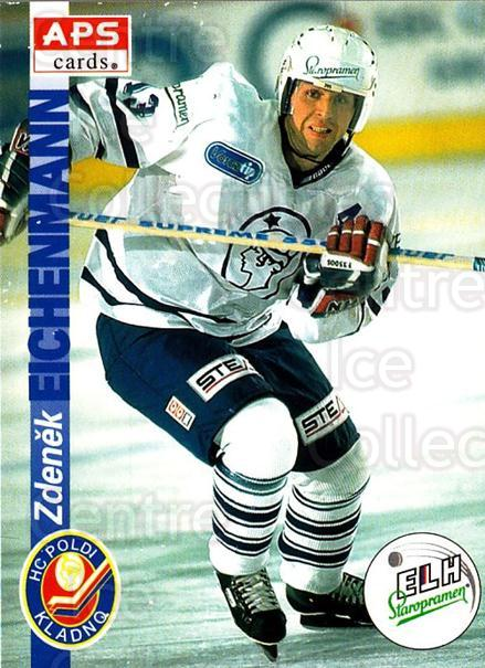 1996-97 Czech APS Extraliga #84 Zdenek Eichenmann<br/>1 In Stock - $2.00 each - <a href=https://centericecollectibles.foxycart.com/cart?name=1996-97%20Czech%20APS%20Extraliga%20%2384%20Zdenek%20Eichenma...&quantity_max=1&price=$2.00&code=608276 class=foxycart> Buy it now! </a>