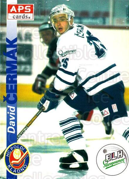 1996-97 Czech APS Extraliga #86 David Cermak<br/>1 In Stock - $2.00 each - <a href=https://centericecollectibles.foxycart.com/cart?name=1996-97%20Czech%20APS%20Extraliga%20%2386%20David%20Cermak...&quantity_max=1&price=$2.00&code=608278 class=foxycart> Buy it now! </a>