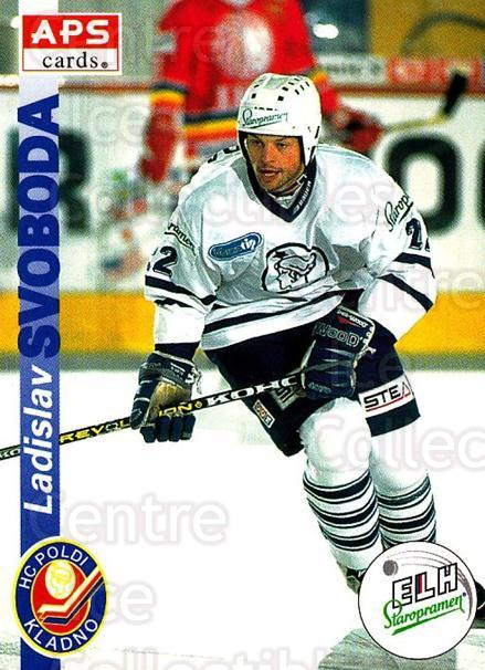1996-97 Czech APS Extraliga #87 Ladislav Svoboda<br/>1 In Stock - $2.00 each - <a href=https://centericecollectibles.foxycart.com/cart?name=1996-97%20Czech%20APS%20Extraliga%20%2387%20Ladislav%20Svobod...&quantity_max=1&price=$2.00&code=608279 class=foxycart> Buy it now! </a>