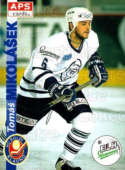 1996-97 Czech APS Extraliga #88 Tomas Mikolasek<br/>1 In Stock - $2.00 each - <a href=https://centericecollectibles.foxycart.com/cart?name=1996-97%20Czech%20APS%20Extraliga%20%2388%20Tomas%20Mikolasek...&quantity_max=1&price=$2.00&code=608280 class=foxycart> Buy it now! </a>