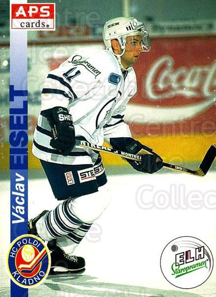 1996-97 Czech APS Extraliga #91 Vaclav Eiselt<br/>1 In Stock - $2.00 each - <a href=https://centericecollectibles.foxycart.com/cart?name=1996-97%20Czech%20APS%20Extraliga%20%2391%20Vaclav%20Eiselt...&quantity_max=1&price=$2.00&code=608283 class=foxycart> Buy it now! </a>